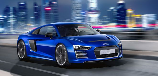 Audi R8 E-Tron Piloted Driving.