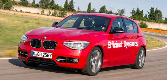 BMW 1er mit Direct Water Injection (DWI).