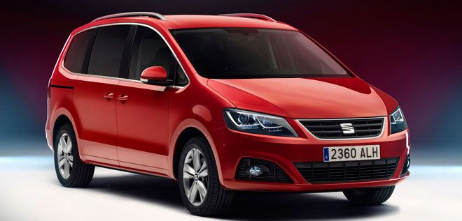 Seat Alhambra Facelift.